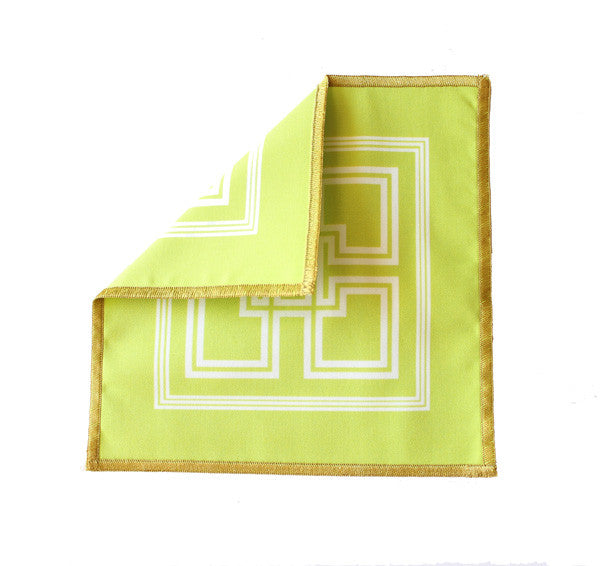Morgan Classic Cocktail Napkins - Lime Green - The Blush Label