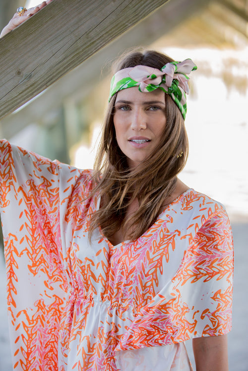 Caftan Dress - Marrakesh - The Blush Label - Vibrant Resort Wear & Home Decor