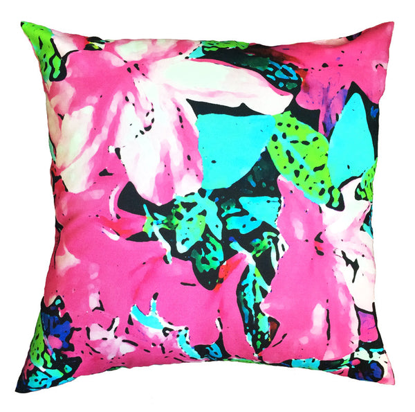 Indoor/Outdoor Pillow - Azalea (Pink) - The Blush Label