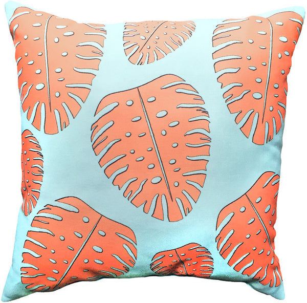 Indoor/Outdoor Pillow - Dorado (Aqua) - The Blush Label