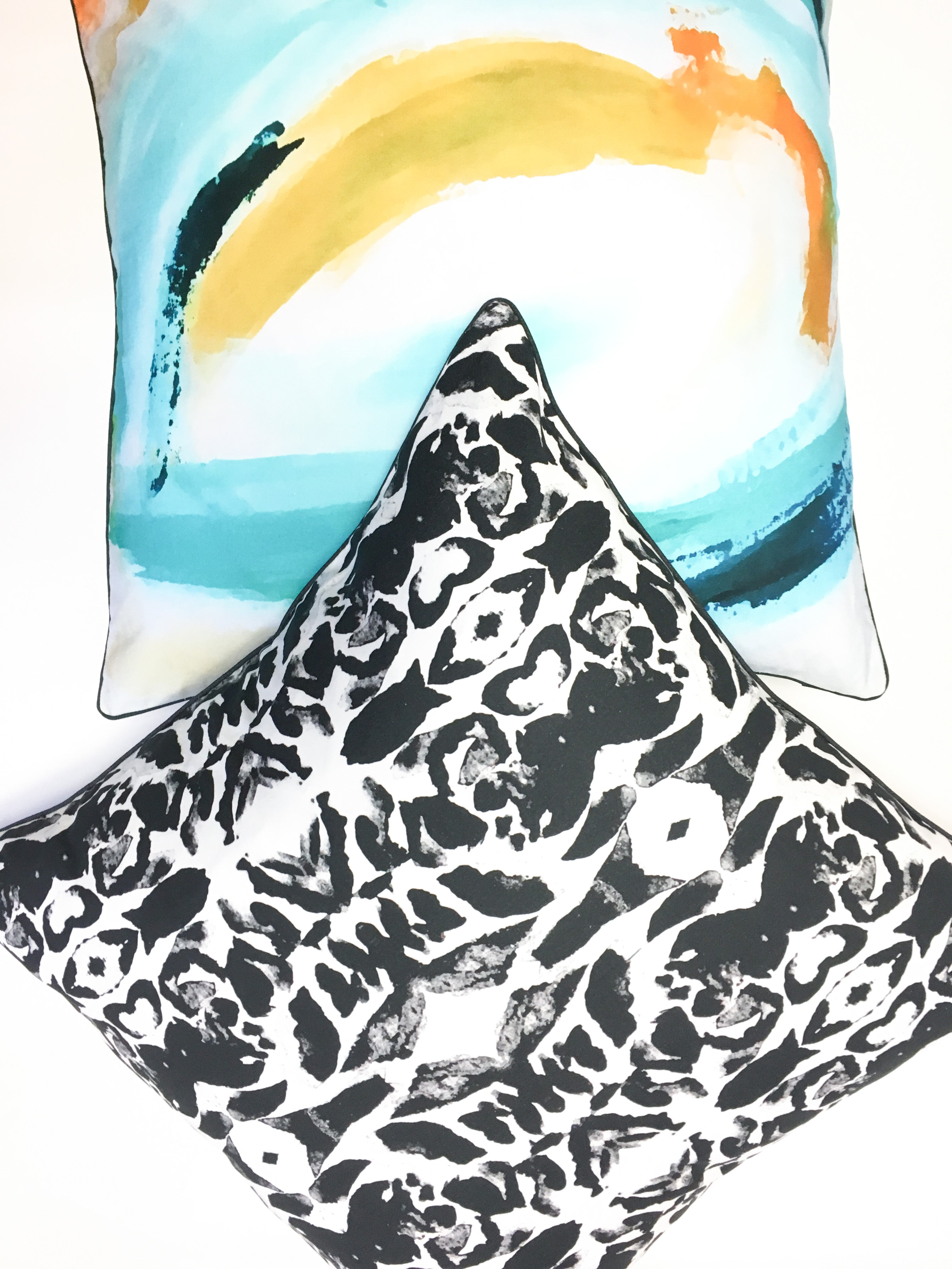 Pillow Cover - Iris - The Blush Label - Vibrant Resort Wear & Home Decor