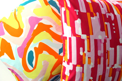 Pillow Cover - Maui - The Blush Label - Vibrant Resort Wear & Home Decor