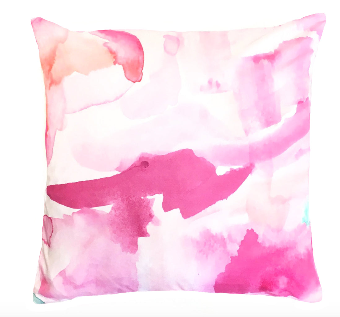 Indoor/Outdoor Pillow - Rae | Resort Wear & Home Decor | The Blush Label