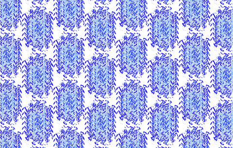 Fabric by the Yard - Moroccan (Blue)