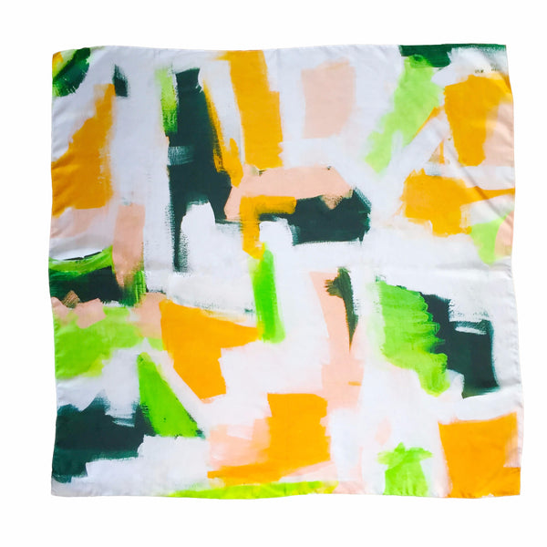Silk Scarf - Palm Beach - The Blush Label