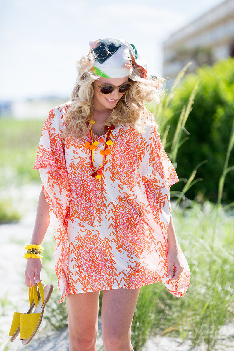 Beach Caftan Cover Up - Marrakesh | The Blush Label