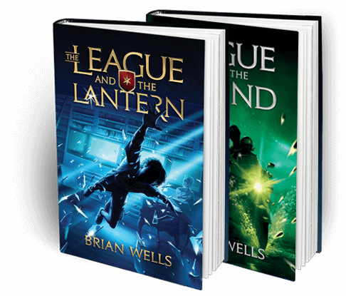 the league and the lantern book