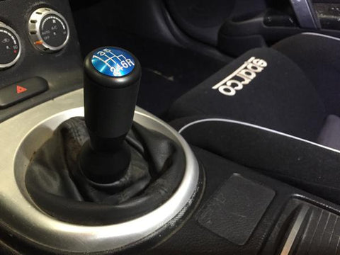DIFtech Shift Knob for 350Z 370Z Extended Delrin Silver Cap M10x1.25 10128-01 - Diftech