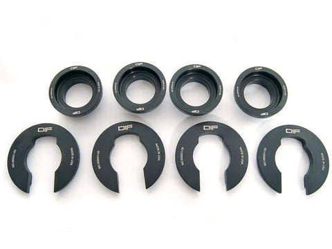 DIFtech Rear Subframe Bushing Insert kit for 240SX S13 S14 collars 10039 - Diftech
