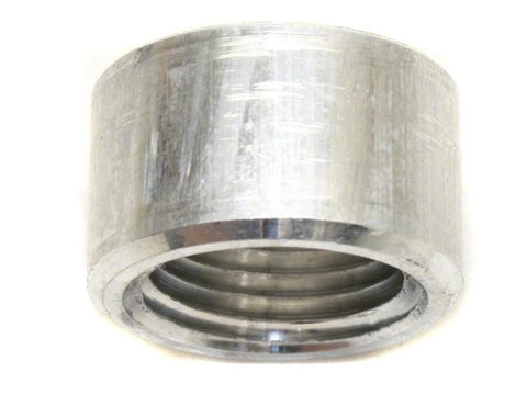 DIFtech Aluminum Weld On Bung Fitting 1/2 NPT 1.06x0.63 in (27x16 mm) 10403 - Diftech