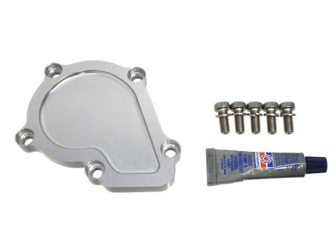 DIFtech Water Pump Block-Off Plate for Nissan 240SX KA24DE Delete kit 10540 - Diftech