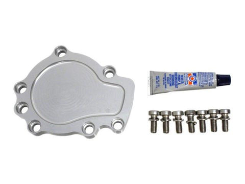 DIFtech Water Pump Block-Off Plate for Nissan 240SX S14 SR20DET Delete kit 10542 - Diftech