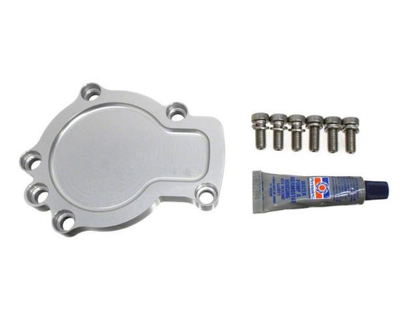 DIFtech Water Pump Block-Off Plate for Nissan 240SX S13 SR20DET Delete kit 10541 - Diftech