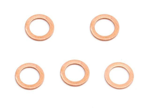 "DIFtech Copper Sealing Washers - 7/16"" (11mm) Pack of 5 10523 - Diftech"