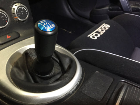 DIFtech Shift Knob for 350Z 370Z Extended Delrin Colored Cap M10x1.25 10128 - Diftech