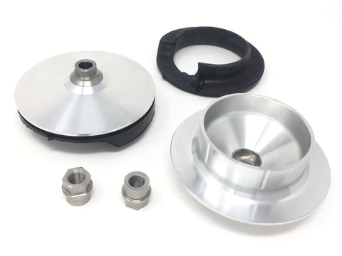 DIFtech Top Hat Install Kit FRONT for Alfa Romeo Giulia w/ KW Variant 3 10691-51 - Diftech