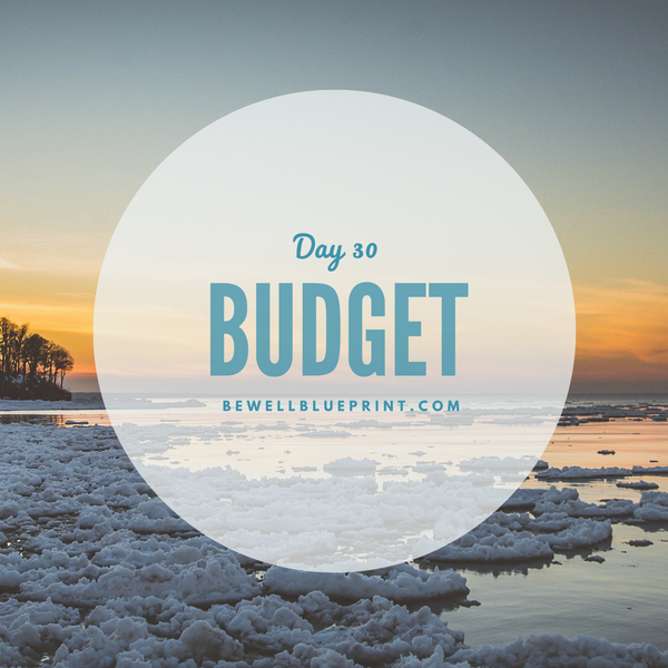 Day 30 - Budget