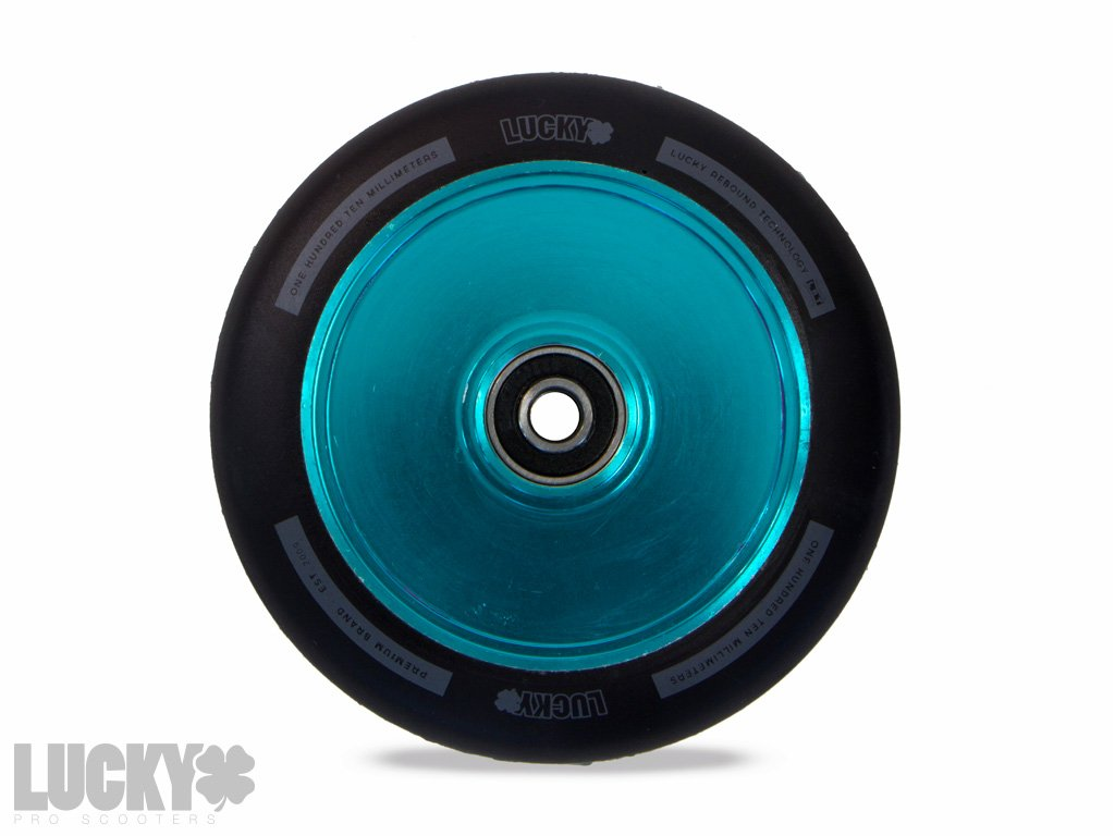 LUCKY LUNAR 110mm WHEEL - TEAL HOLLOWCORE
