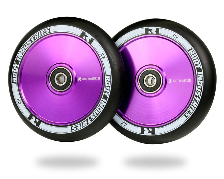 ROOT INDUSTRIES AIR WHEELS 110mm - BLACK/PURPLE