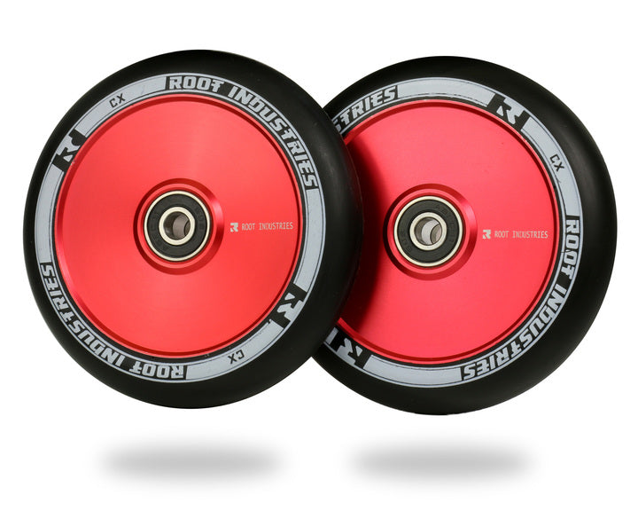 ROOT INDUSTRIES AIR WHEELS 110mm - BLACK/RED