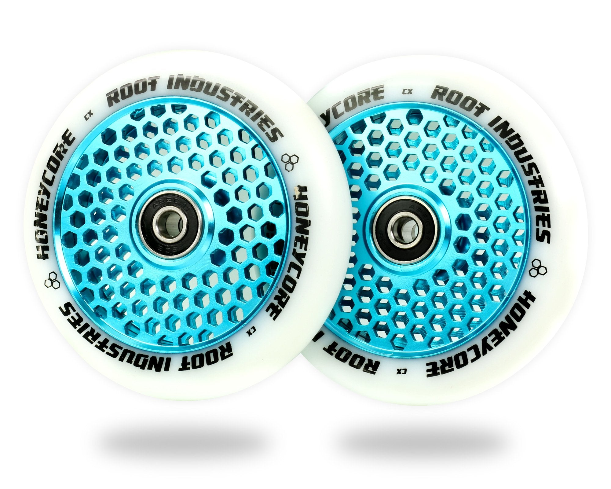 ROOT INDUSTRIES HONEY CORE WHEELS 110mm - WHITE/SKYBLUE