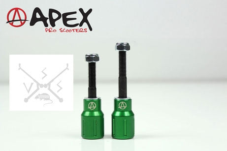 APEX BARNAYNAY PEGS - GREEN
