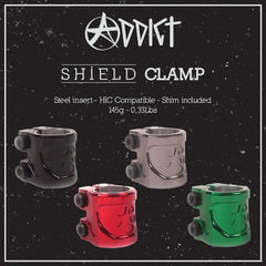 ADDICT SHIELD DOUBLE CLAMP