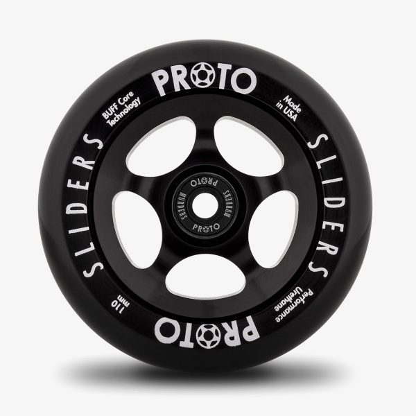 PROTO SCOOTERS 110mm WHEELS - SLIDERS BLACK