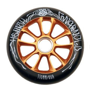 841 (AO) ELLIOTT ARNOLD SCOOTER WHEEL - GOLD