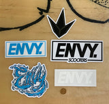 ENVY SCOOTERS STICKER PACK