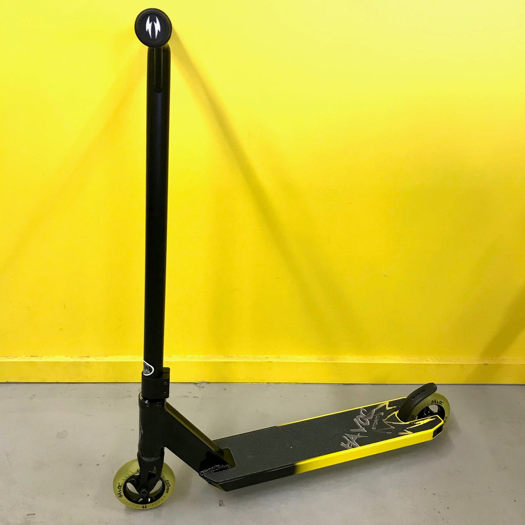 HAVOC SCOOTERS STORM COMPLETE - YELLOW