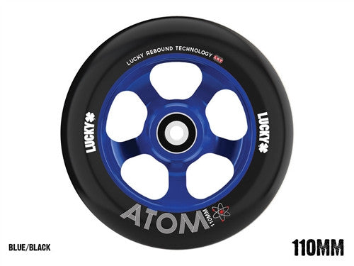 LUCKY 2016  ATOM 110mm WHEEL - BLUE/BLACK