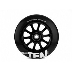 LUCKY TEN 110mm WHEEL - Black/Black