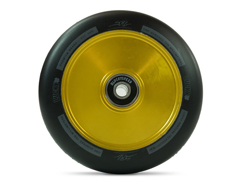 LUCKY LUNAR 110mm WHEEL - JON MARCO GAYDOS GOLD