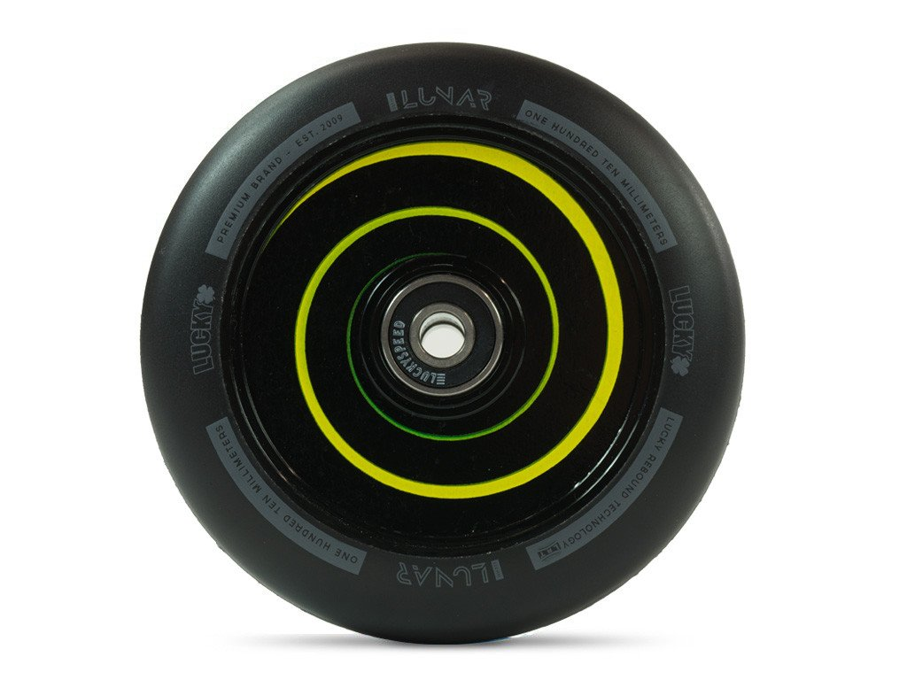 LUCKY LUNAR 110mm WHEEL - HYPNOTIC BLACK