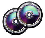 ROOT INDUSTRIES AIR WHEELS 110mm - (ROCKETFUEL) NEOCHROME/BLACK