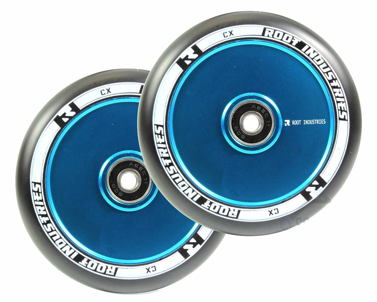 ROOT INDUSTRIES AIR WHEELS 110mm - BLACK/SKY BLUE
