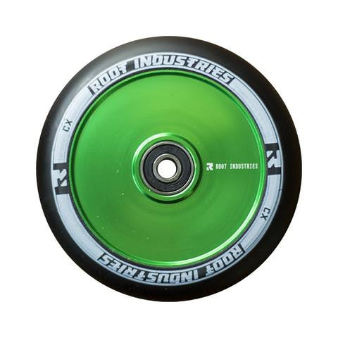 ROOT INDUSTRIES AIR WHEELS 120mm - GREEN/BLACK