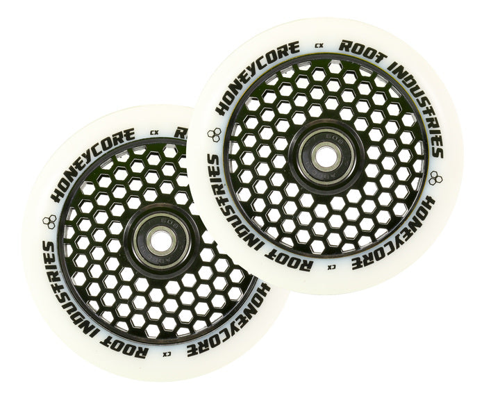 ROOT INDUSTRIES HONEY CORE WHEELS 110mm - WHITE/BLACK