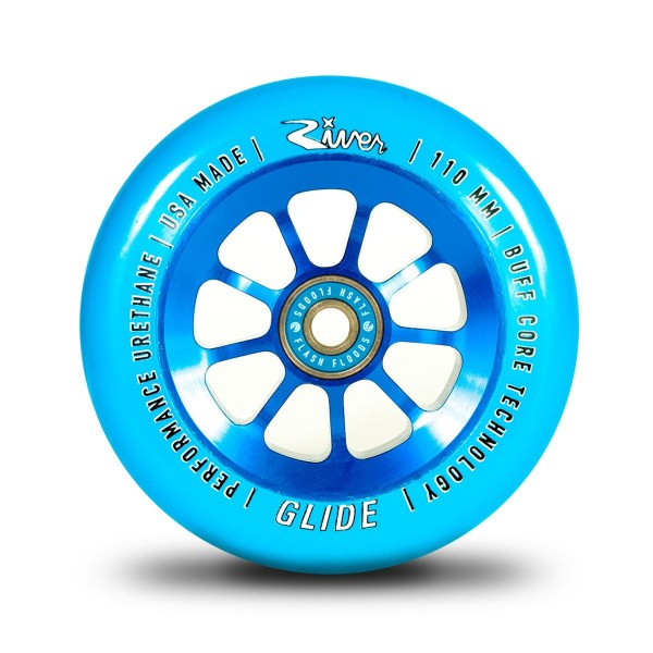 GLIDES 110MM (BLUE ON BLUE) 1-PAIR