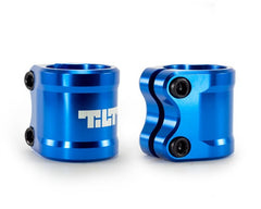TILT ARC DOUBLE CLAMP - BLUE