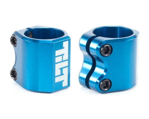TILT SCOOTERS CLASSIC DOUBLE CLAMP - BLUE