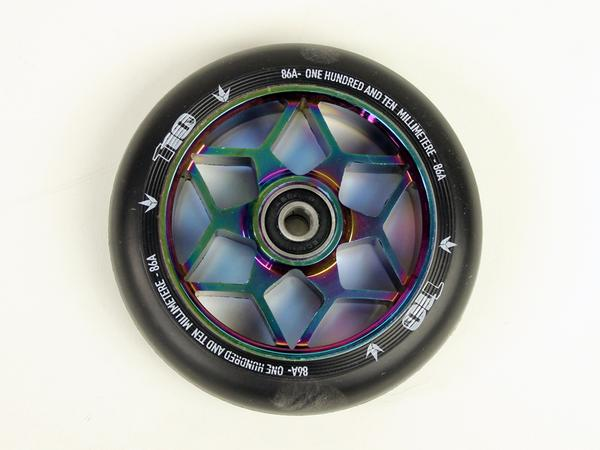 ENVY 110mm DIAMOND BLACK/OILSLICK WHEEL