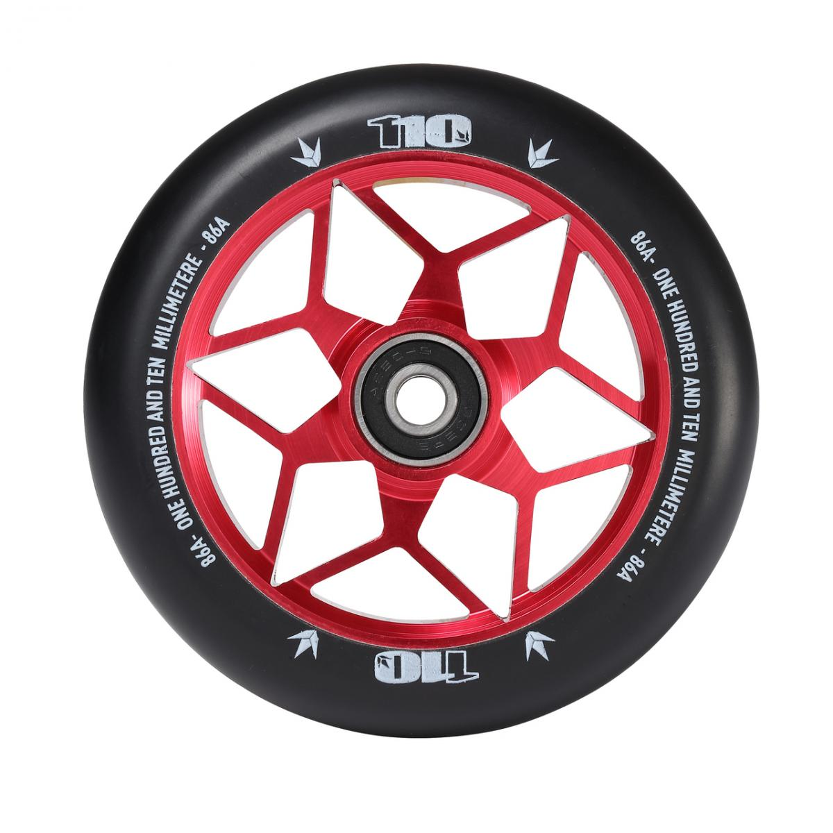 ENVY 110mm DIAMOND BLACK/RED WHEEL