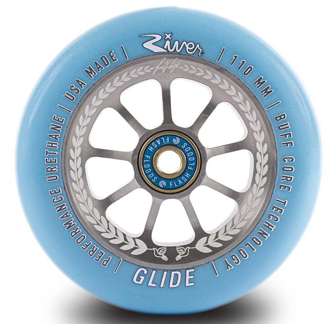 "RIVER SCOOTER WHEELS - GLIDES ""SERENITY"" JUZZY CARTER SIG"