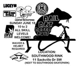 RAIL RAT RODEO COMPETITION ENTRY FEE