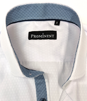 Men's Diamond Woven Short Sleeve Dress Shirt