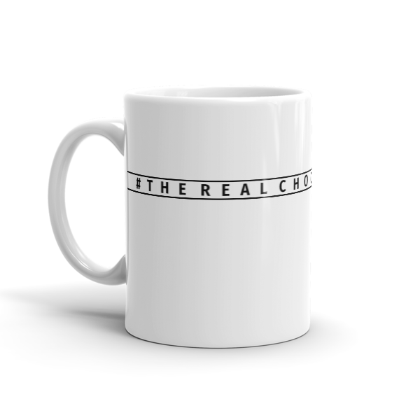 #therealchocolatesanta Mug in Black