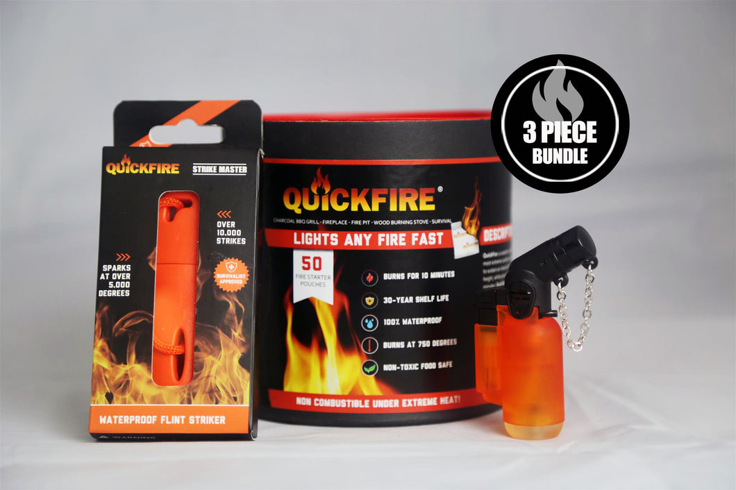 QuickFire (3 Piece Fire Bundle)