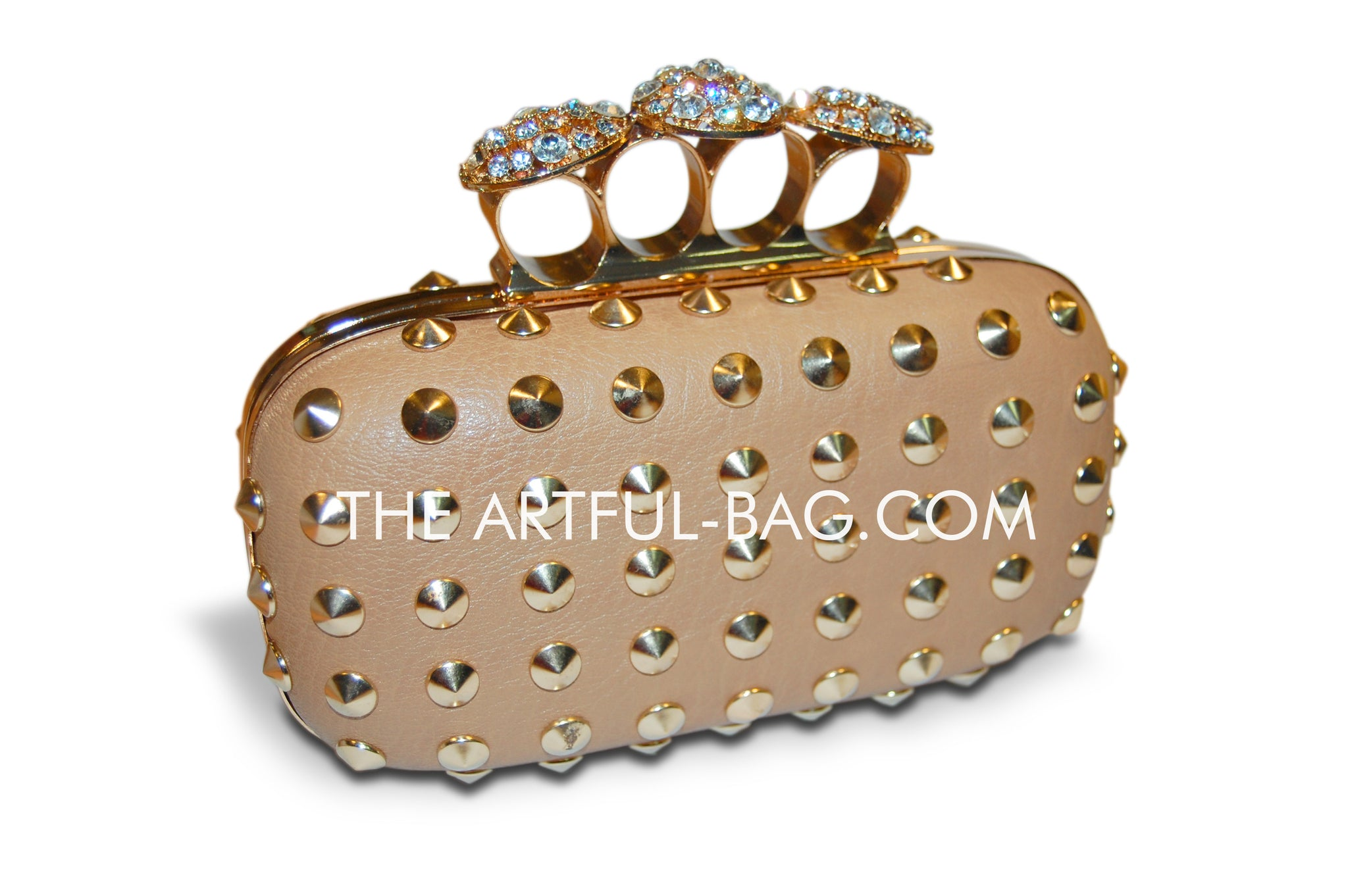 Gold Knuckle Clutch